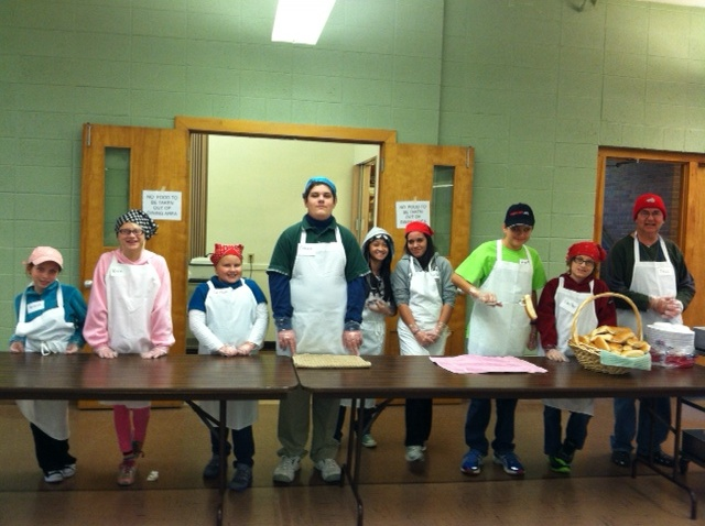 Youth Group at Community Meal