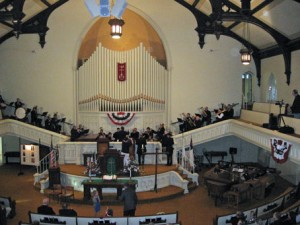 1st Brigade Band Performs