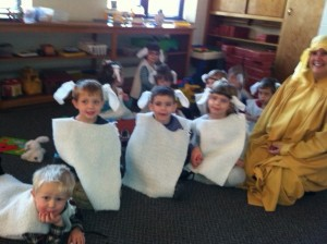 Sunday School Christmas Sheep