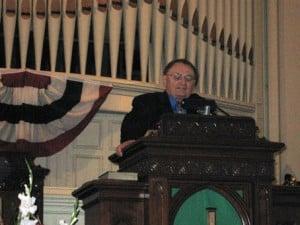 John Eyster Preaching