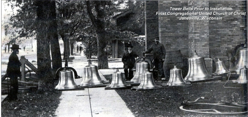 Tower Bells Awaiting Installation
